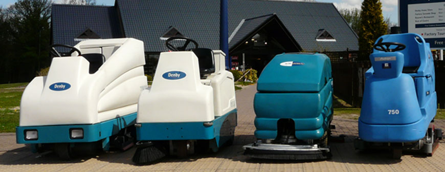 Refurbished scrubber dryers and sweepers from NCM